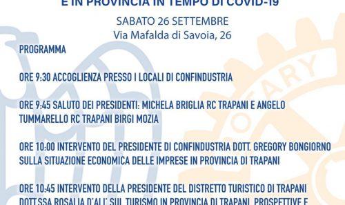 Riflessioni sullo stato dell'economia a Trapani e in Provincia in tempo di Covid-19