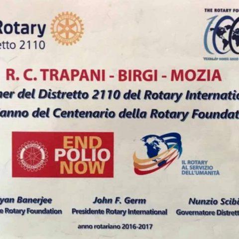 Targa Rotary Foundation 2017