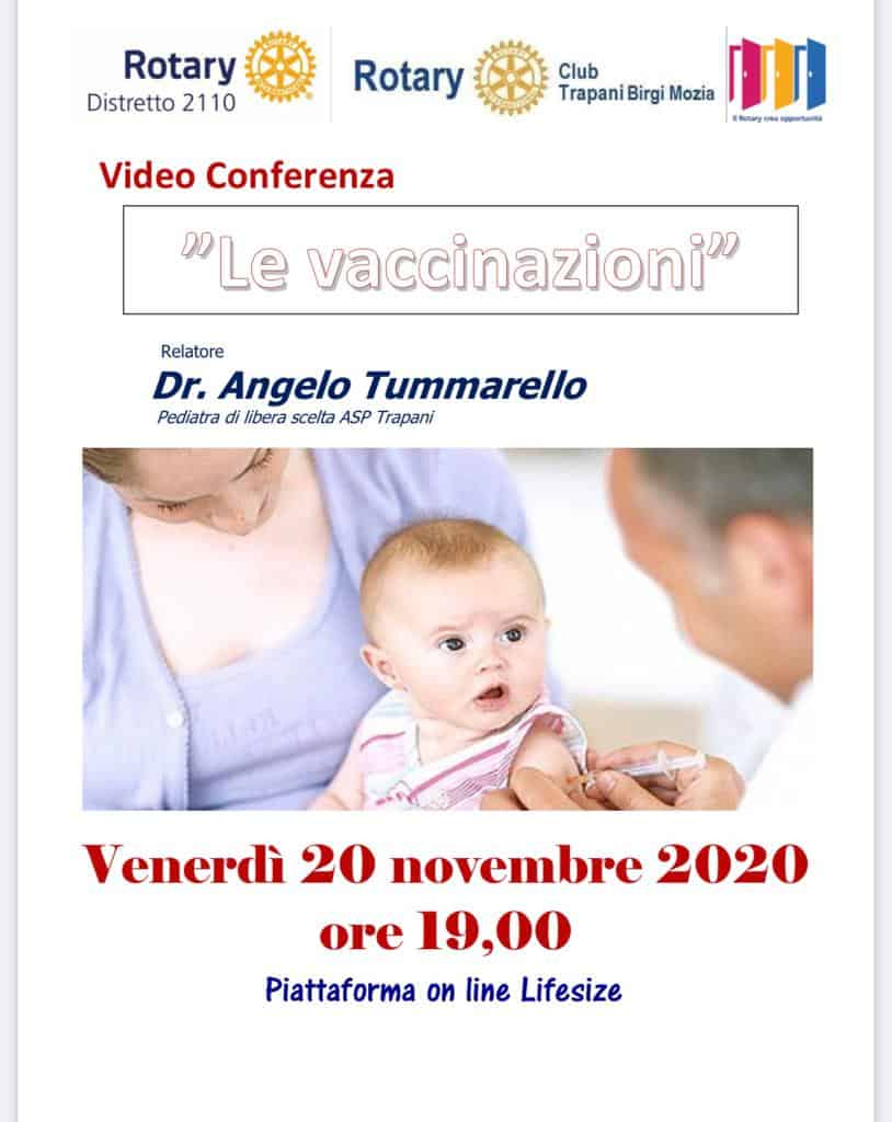"Video Conferenza ""Le Vaccinazioni"""