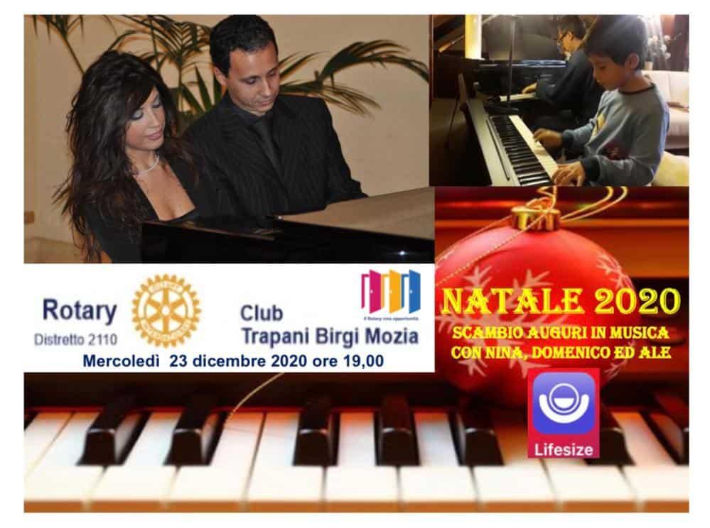 """NATALE 2020 """"Scambio Auguri In Musica Con Nina, Domenico Ed Ale"""""""