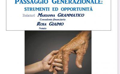 """Video Conferenza """"Passaggio Generazionale"""""""